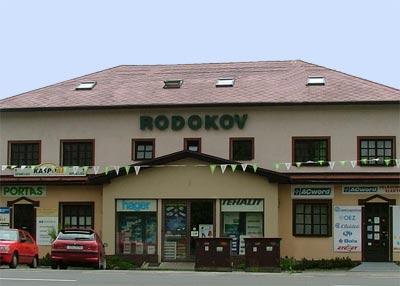 Sídlo společnosti Rodokov